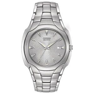 Citizen Eco-Drive Stainless Steel Watch Men's
